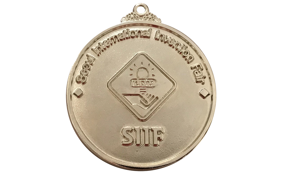 Silver medal from South korea
