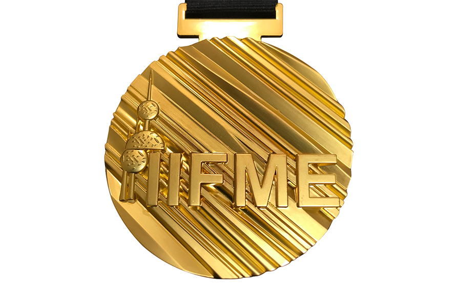 Gold medal from Kuwait