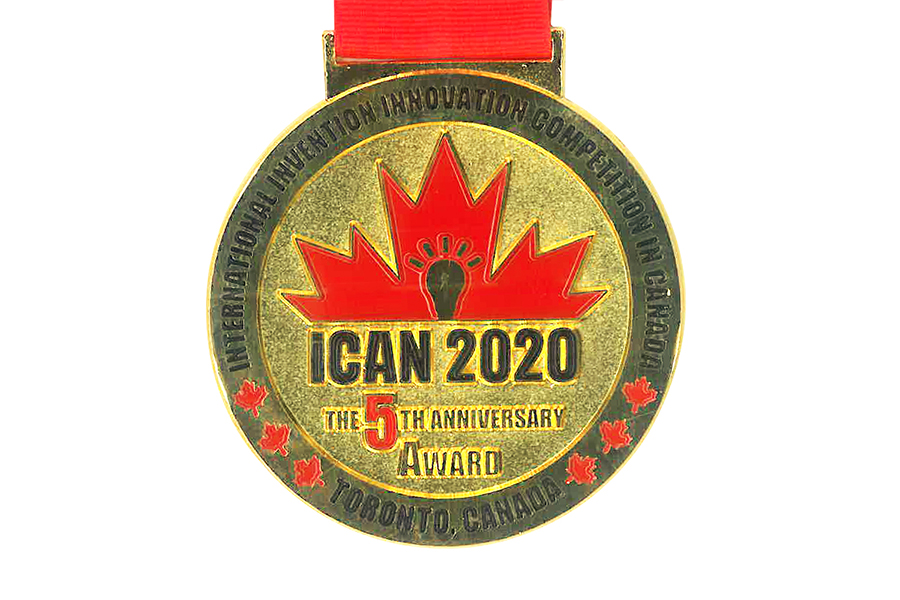 Gold medal from Canada
